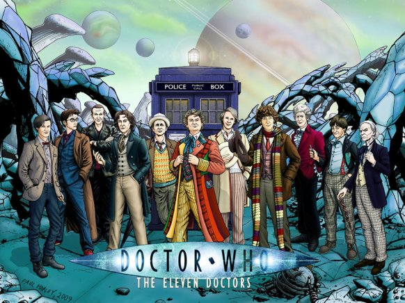 the_eleven_doctors___alternate_by_paulhanley