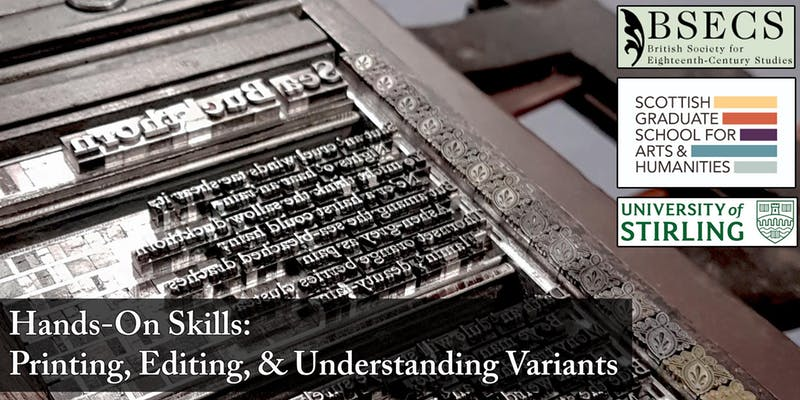 Technical Skills For Textual Editing Understanding Variants Sgsah
